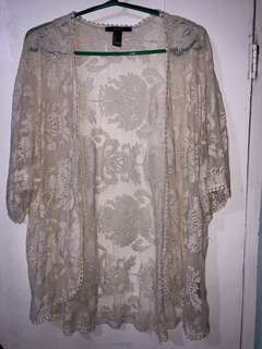 Forever21 lace coverup
