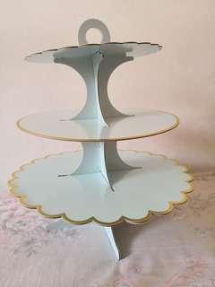 3 tier cupcake tray