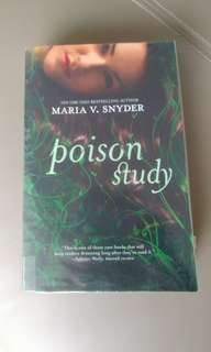 Poison study Young adult books