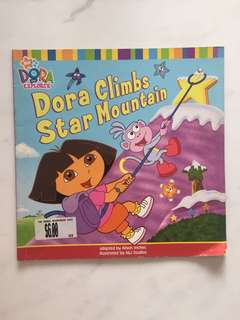 Dora The Explorer- Dora climbs star mountain
