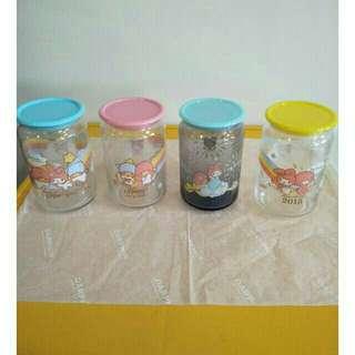 711  40週年紀念限定造型限量玻璃儲存罐