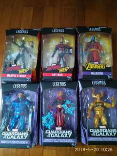 Marvel Legends figures mib