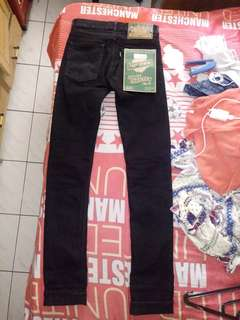 Celana pmp denim super thaistick black size 27