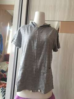 Blus kaos cardigan sport jacket