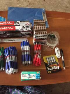 Stationary items for dale