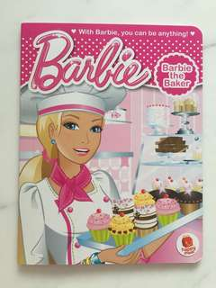 McDonald's Happy Meal Toy- barbie the baker