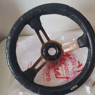 Universal Sport Car Steering Wheel deep dish