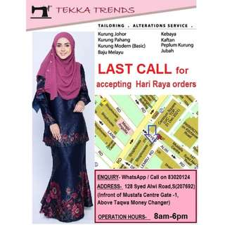 BAJU KURUNG CHEAP & BEST TAILOR