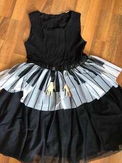 Preloved piano dress