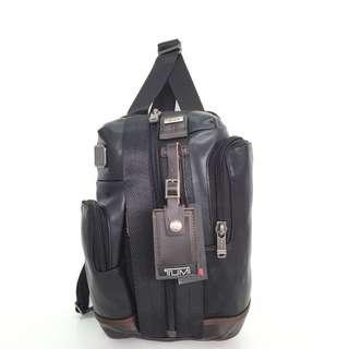 Tumi Alpha Bravo Monterey Leather Sling