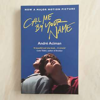 BN Call Me By Your Name by André Aciman