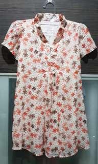 Baju hamil motif bunga cantik