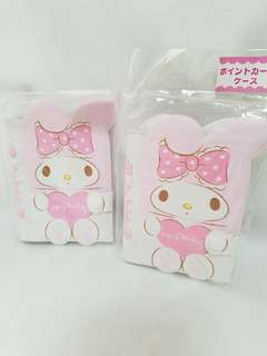 My Melody Two Credit Card Holders