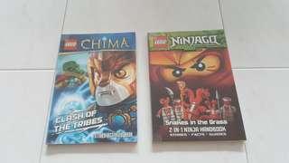 Ninjago & China Books