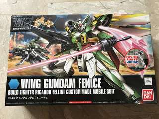 HG Build Fighters Wing Gundam Fenice