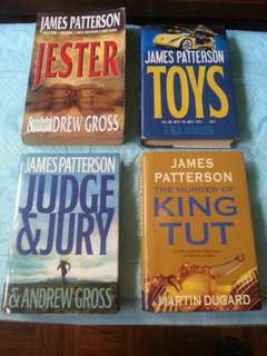 James Patterson Novels (read first)