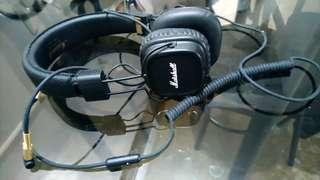 Marshall wired headphone major ll