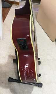 Tone drive acoustic guitar. With bag