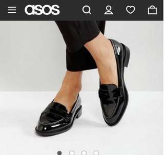 Asos Oxford Loefers Flat Shoes