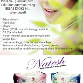 Natesh Pembalut & Pantyliner