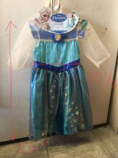 Frozen Queen Elsa costume for 5-6yo