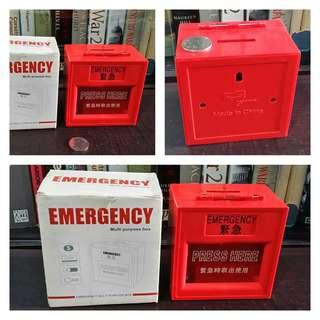 Fancy Coin Bank / Multi-Purpose Box (emergency box design)