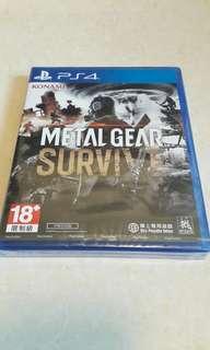 PS4 METAL GEAR SURVIVE 全新 中英文版