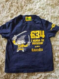 LAUNDRY Kids Tshirt ( Japanese Brand )