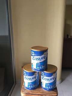 Ensure milk powder (Life) 3 tins bundle
