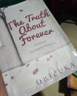 NOVEL THE TRUTH ABOUT FOREVER !BEST SELLER! By ORIZUKA