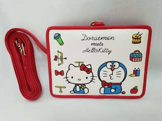 Hello Kitty Doraemon Card Holder Strap