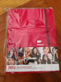Official goods SNSD Girls generation diary 2012