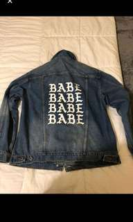 Babe Denim Jacket from Mendocino