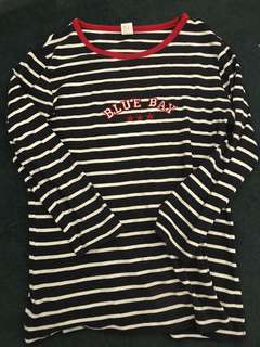 Stripe 3/4 shirt