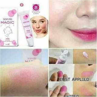 Sophie magic pink cream -  lip & Cheek tint