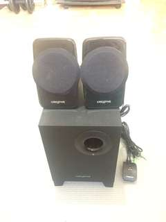 Creative 3 set Speaker w/ subwoofer