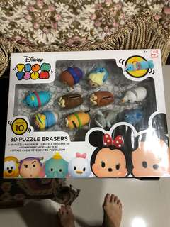 BN Disney tsum tsum 3D puzzle eraser