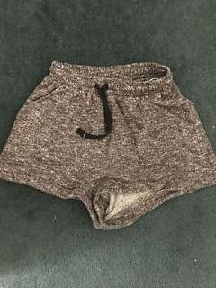 Grey marle shorts