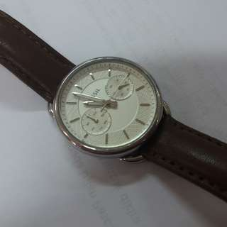 fossil tailor watch (women)