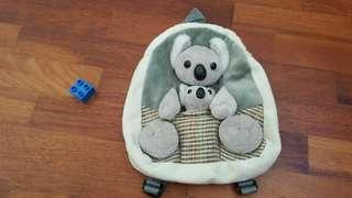 [Preloved] Koala bear backpack
