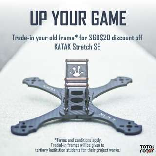FPV racing frame: Trade-in special!