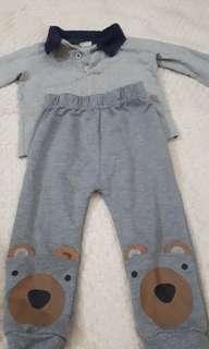 Kids top n pants - rm10