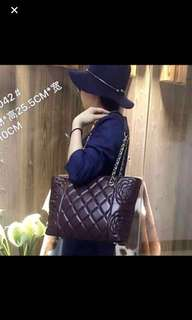 (in Stock) leather bag
