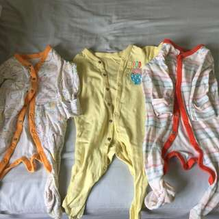 Mothercare Sleepers 3-6mths