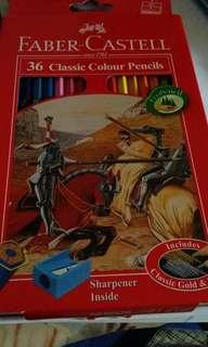 Faber Castell Colour Pencils -36