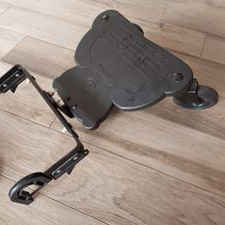 Foot board for stroller