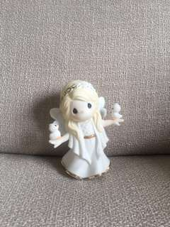 Precious Moments Porcelain Figurine - In His Perfect Peace and Love