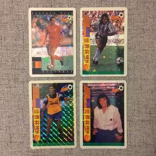 94 世界杯 球星卡 閃卡 歡迎交換 World Cup Card