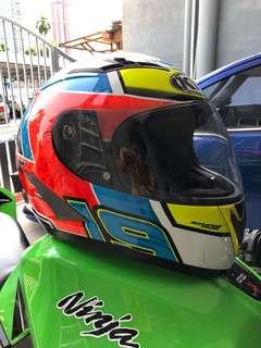 Helmet KYT Simeon xavier vendetta