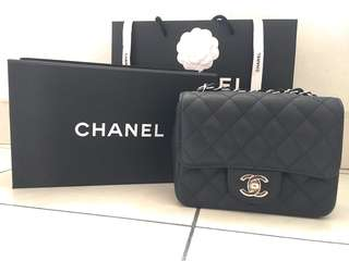 (Ready stock) Chanel mini square GHW